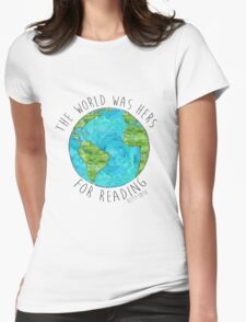 The World Womens Fitted T-Shirt