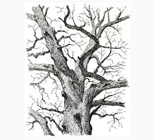 Old Bur Oak in Ink Unisex T-Shirt