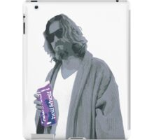 69 cent.  Jeffrey Lebowski shopping for Half & Half iPad Case/Skin