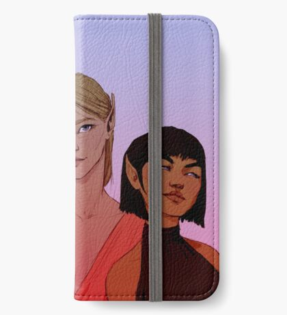 Night Court Girls iPhone Wallet/Case/Skin