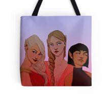 Night Court Girls Tote Bag