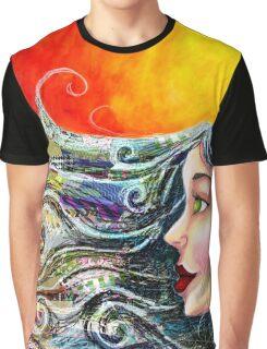 Bohemian Fire Graphic T-Shirt