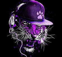 DJ Tiger by moncheng