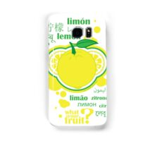 FruitHeads - lemon Samsung Galaxy Case/Skin