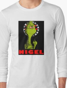 Nigel the Grinch Who Stole England Long Sleeve T-Shirt
