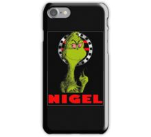 Nigel the Grinch Who Stole England iPhone Case/Skin
