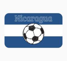 Republic of Nicaragua | Football by piedaydesigns