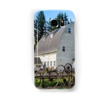 Historic Uniontown Washington Dairy Barn Samsung Galaxy Case/Skin