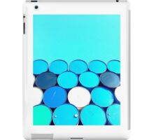 Blue Barrels iPad Case/Skin