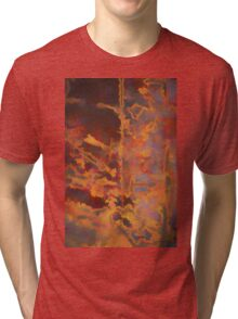 Color Abstraction LXXI Tri-blend T-Shirt