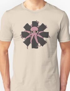 Red Hot Chili Peppers - Positive Mental Octopus Unisex T-Shirt