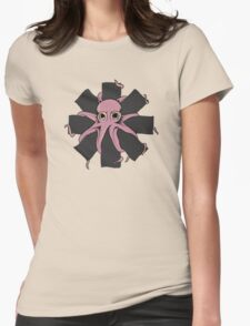 Red Hot Chili Peppers - Positive Mental Octopus Womens Fitted T-Shirt