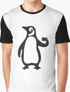 Penguin Selfie Graphic T-Shirt