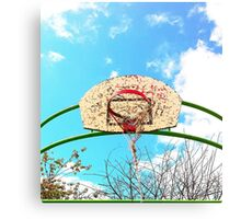 Bad Shape BasketBall Canvas Print