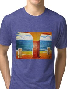 Ocean View Under the Arch Tri-blend T-Shirt