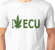 I Love ECU Unisex T-Shirt