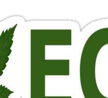 I Love ECU Sticker