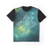 Nebula geometric art Graphic T-Shirt