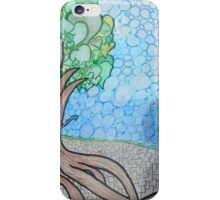 Strong roots hold ground iPhone Case/Skin