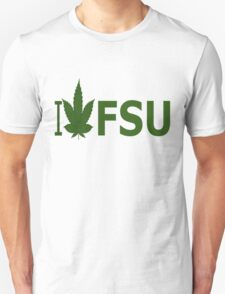 I Love FSU Unisex T-Shirt