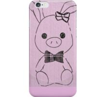Pig Rabbit (You're Beautiful)  iPhone Case/Skin