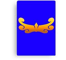 Megaforce Sea Symbol Canvas Print