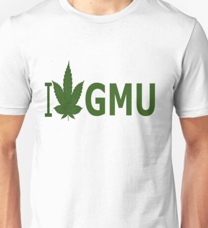 I Love GMU Unisex T-Shirt