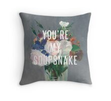you're my soupsnake Throw Pillow