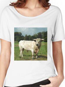 White Bull Women's Relaxed Fit T-Shirt