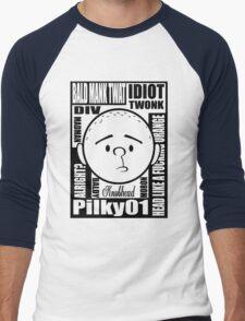 Pilky01 Men's Baseball ¾ T-Shirt