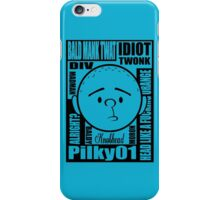 Pilky01 iPhone Case/Skin