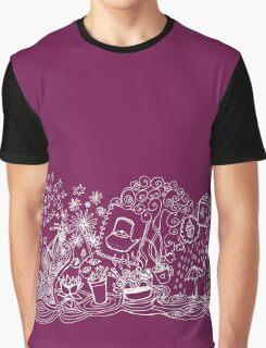Happy Dream Doodle Graphic T-Shirt