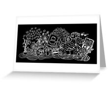Happy Dream Doodle Greeting Card