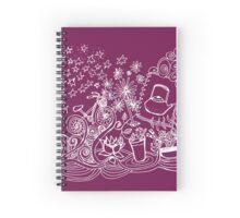 Happy Dream Doodle Spiral Notebook