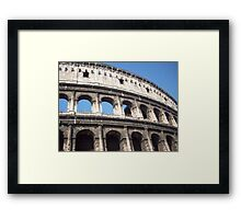 When in Rome Framed Print