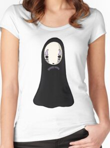 No-face Women's Fitted Scoop T-Shirt