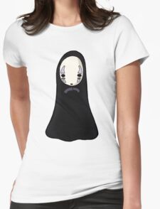 No-face Womens Fitted T-Shirt
