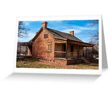 Grafton Ghost Town Home - Utah Greeting Card
