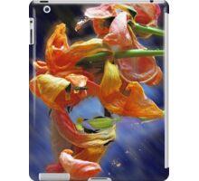 tulip petals dance iPad Case/Skin