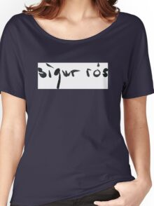 Sigur Ros iceland islande music Women's Relaxed Fit T-Shirt