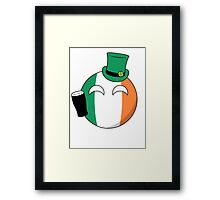 Ireland Ball Framed Print