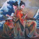 Ode to Hokusai by Skye O'Shea