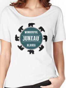 Juneau, Alaska Women's Relaxed Fit T-Shirt