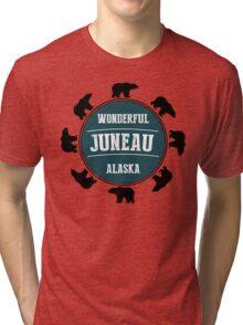 Juneau, Alaska Tri-blend T-Shirt