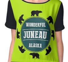 Juneau, Alaska Chiffon Top