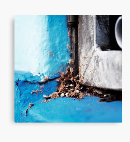 { Corners: where the walls meet #08 } Canvas Print