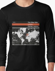 damian lazarus the other side london Long Sleeve T-Shirt