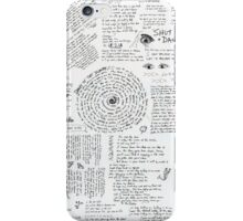 Walk The Moon- Talking is Hard LYRIC SHEET iPhone Case/Skin