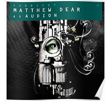 matthew dear as audion fabric 27 Poster