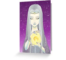"Sorceress, ""girls are magical"" Greeting Card"